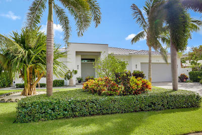 Singer Island Single Family Home For Sale: 218 Bamboo Road