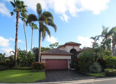 Boynton Beach Single Family Home For Sale: 6135 Terra Mere Circle