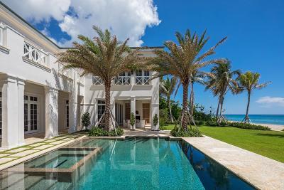 Gulf Stream, Ocean Ridge Single Family Home For Sale: 3501 Ocean Boulevard