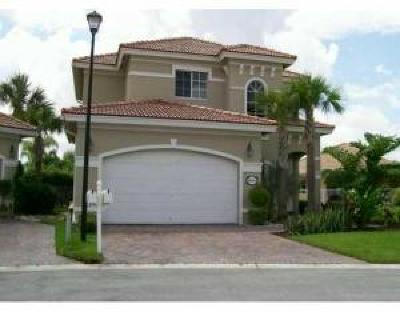 West Palm Beach Single Family Home For Sale: 8744 Bearing Point S