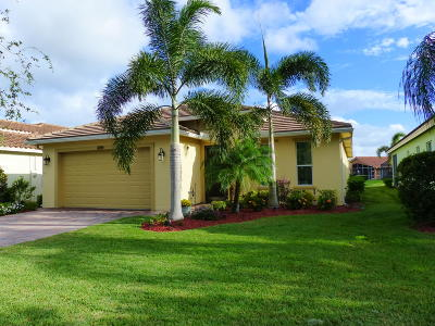 Port Saint Lucie Single Family Home For Sale: 11709 SW Mountain Ash Circle