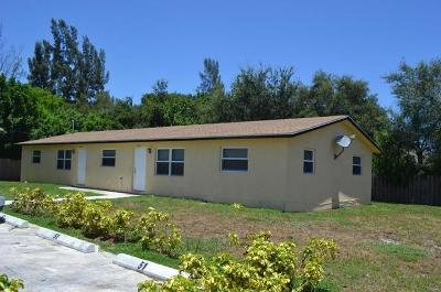 Lake Worth Multi Family Home For Sale: 3451 48 Lane S