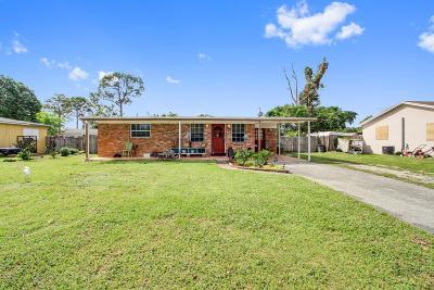 Lake Worth Single Family Home For Sale: 3677 Laurette Lane