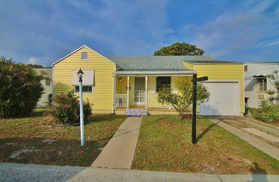 Lake Worth Single Family Home For Sale: 1221 O Street