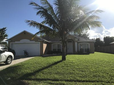 Port Saint Lucie Single Family Home For Sale: 2397 SE Addison Street