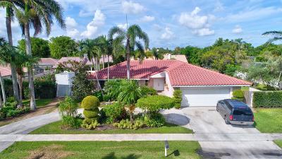 Boca Raton Single Family Home For Sale: 7021 San Sebastian Circle
