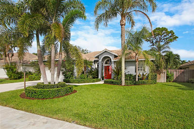 Palm Beach Gardens Single Family Home For Sale: 2550 Monaco Terrace
