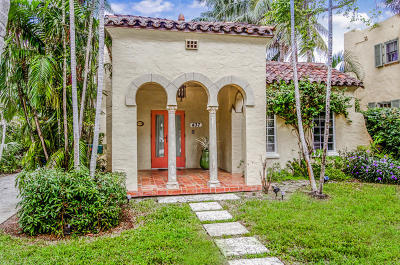 West Palm Beach Single Family Home For Sale: 437 34th Street