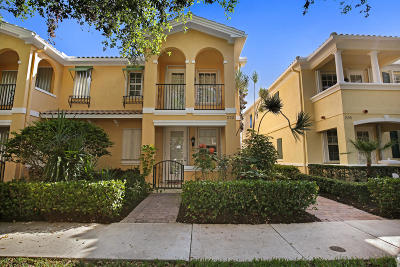 Jupiter Townhouse For Sale: 222 Soriano Drive