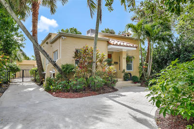 West Palm Beach Single Family Home For Sale: 812 Upland Road
