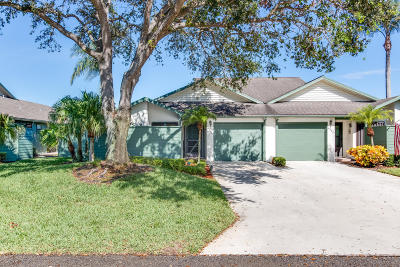 Hobe Sound Single Family Home For Sale: 6806 SE Bunker Hill Drive