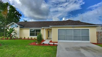 Port Saint Lucie, Saint Lucie West Single Family Home For Sale: 2256 SE Bowie Street