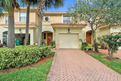 Palm Beach Gardens Townhouse For Sale: 6208 Seminole Gardens Circle