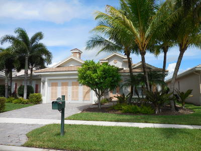 West Palm Beach Single Family Home For Sale: 10755 La Strada