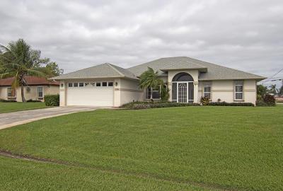 Port Saint Lucie, Saint Lucie West Single Family Home For Sale: 501 SW Bailey Terrace