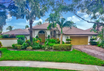 Boca Raton Single Family Home For Sale: 10775 Santa Rosa Drive