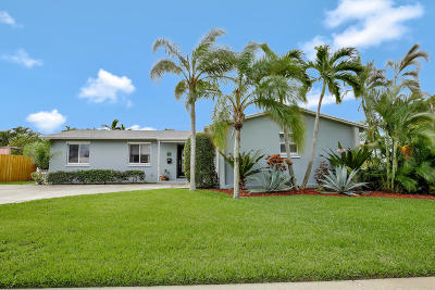 North Palm Beach Single Family Home For Sale: 516 Flotilla Road