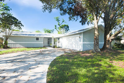 Port Saint Lucie Single Family Home For Sale: 521 SW Comet Terrace