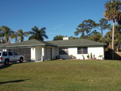 Port Saint Lucie, Saint Lucie West Single Family Home For Sale: 891 SW Dalton Avenue
