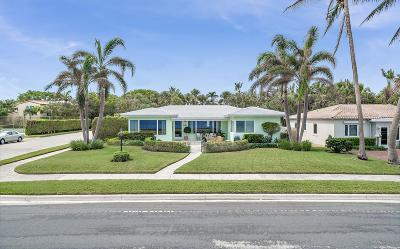 West Palm Beach Single Family Home Contingent: 7115 S Flagler Drive