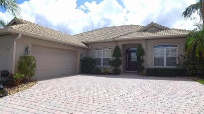 Port Saint Lucie Single Family Home For Sale: 445 NW Canterbury Court