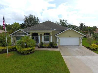 Port Saint Lucie Single Family Home For Sale: 5336 NW Clark Avenue