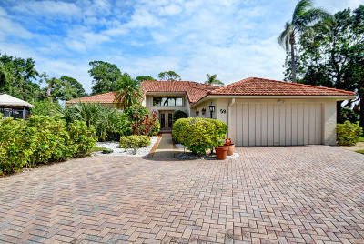 Boynton Beach Single Family Home For Sale: 58 Woods Lane