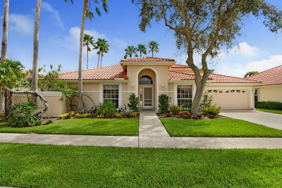 Palm Beach Gardens Single Family Home For Sale: 109 Eagleton Lane