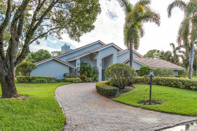 Boynton Beach Single Family Home For Sale: 4612 Turnberry Court
