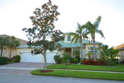 Port Saint Lucie Single Family Home For Sale: 183 Magnolia Lakes Boulevard