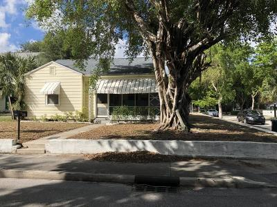 West Palm Beach Single Family Home For Sale: 2301 Parker Avenue