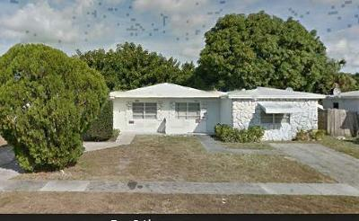 West Palm Beach Single Family Home Contingent: 5041 Eadie Place
