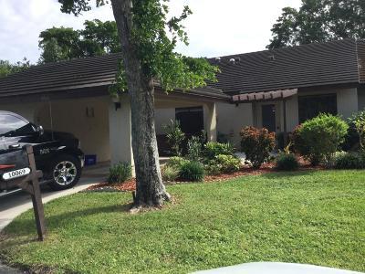 Boynton Beach Single Family Home For Sale: 10069 Hickorywood Place