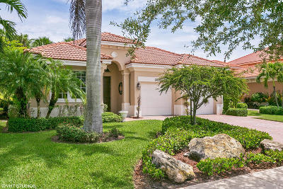 Palm Beach Gardens Single Family Home For Sale: 12061 Aviles Circle