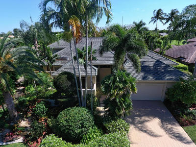 Boca Raton Single Family Home For Sale: 7470 Mahogany Bend Place