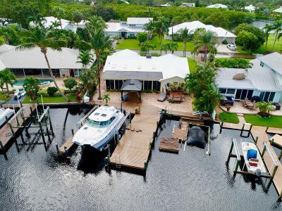Palm City Single Family Home For Sale: 711 SW Pine Tree Lane