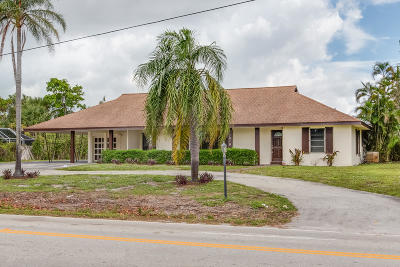 Lake Worth Single Family Home For Sale: 1910 High Ridge Road