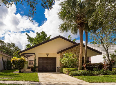 Boynton Beach Single Family Home For Sale: 4843 Boxwood Circle