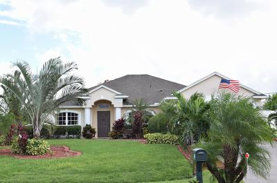 Port Saint Lucie Single Family Home For Sale: 1032 SW Paar Drive