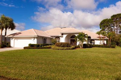Port Saint Lucie Single Family Home For Sale: 1070 SW Mockingbird Drive