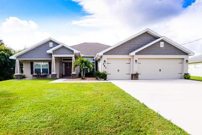 Port Saint Lucie Single Family Home For Sale: 582 SW Lacroix Avenue