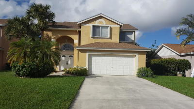 Boynton Beach Single Family Home For Sale: 6801 Farragut Lane