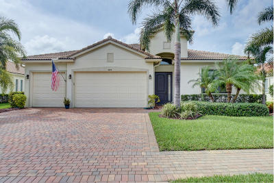 Delray Beach Single Family Home For Sale: 9375 Isles Cay Drive