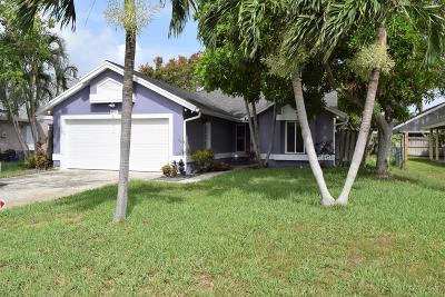 Jupiter Single Family Home For Sale: 6183 Dania Street
