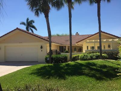 Boca Raton Single Family Home For Sale: 6772 E Villas Drive