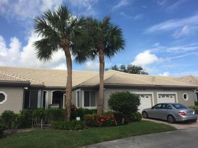 Delray Beach Single Family Home For Sale: 5374 Monterey Circle #C