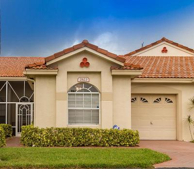 Boynton Beach Single Family Home For Sale: 2623 Crabapple Circle