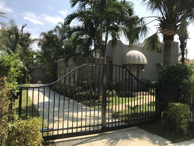 West Palm Beach Single Family Home For Sale: 6212 Garden Avenue