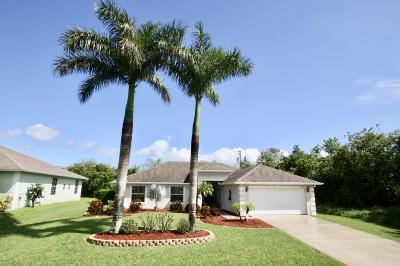Port Saint Lucie Single Family Home For Sale: 4681 SW Ulster Street