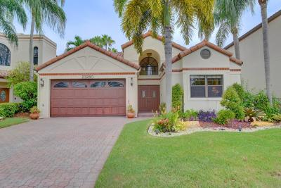 Boca Raton Single Family Home For Sale: 23280 Mirabella Circle